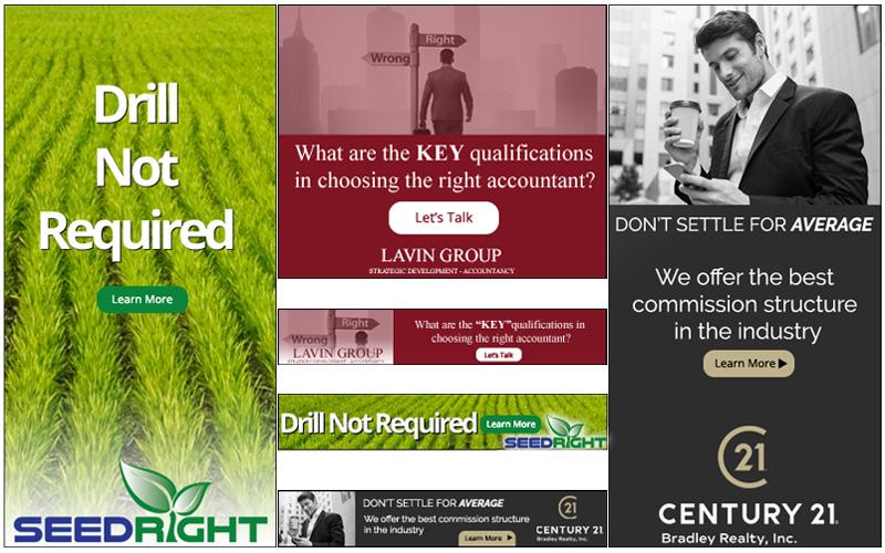 Ads used in Digital Marketing