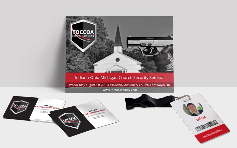 TOCCOA printed materials