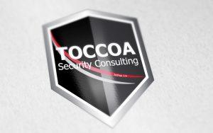 TOCCOA logo design
